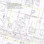 przykład mapy do celów projektowych z planem zagospodarowania działki