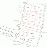 przykład mapy podziału na działki budowlane