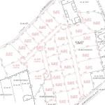 przykład mapy podziału do sprzedaży działek budowlanych